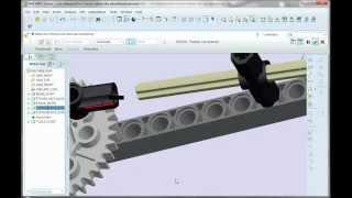 Pro-E Tutorial -  Mechanism Simple Piston  (TCNJ)