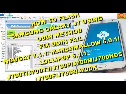 Flash Samsung Galaxy J7 J700T J700T1 J700P J700F J700H J7008 J700M J700K