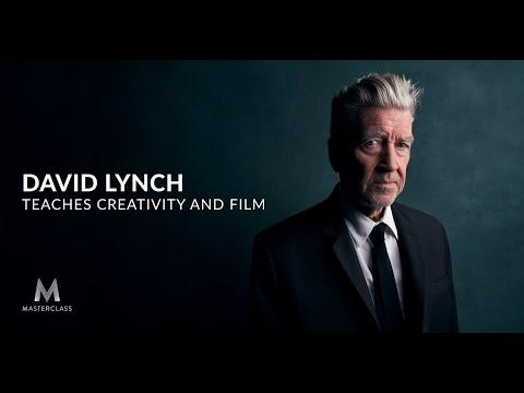 David Lynch Teaches Creativity and Film: A New Online Course