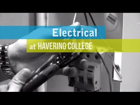 Electrical courses at Havering College