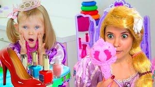 Как Наряжается и делает макияж  Tasya