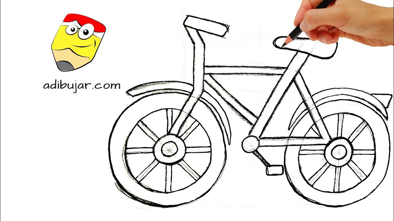 Emojis Whatsapp Cómo Dibujar Una Bicicleta Fácil Dibujos De Emoticones A Lápiz Paso A Paso Youtube