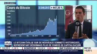 Le Cours du Bitcoin en hausse constante