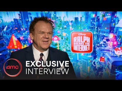 RALPH BREAKS THE INTERNET Interviews (John C. Reilly, Sarah Silverman) | AMC Theatres (2018)