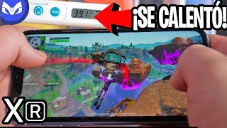 gameplay fortni iphone xs max
