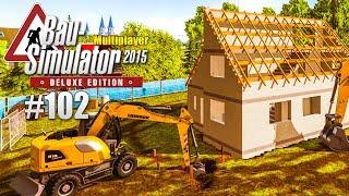 Bau-Simulator 2015 Multiplayer #102 - MOBILBAGGER im Einsatz! CONSTRUCTION SIMULATOR Deluxe