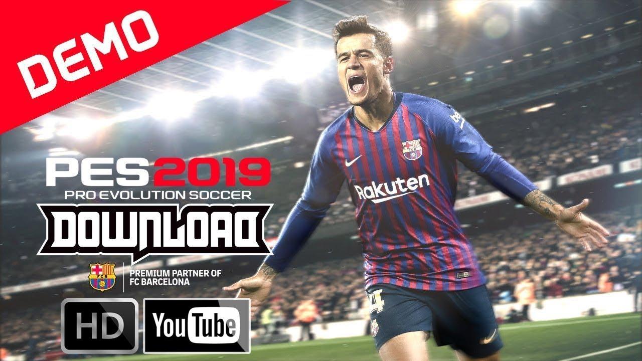 Pro Evolution Soccer 2019 Download PC Game Demo - 3GB