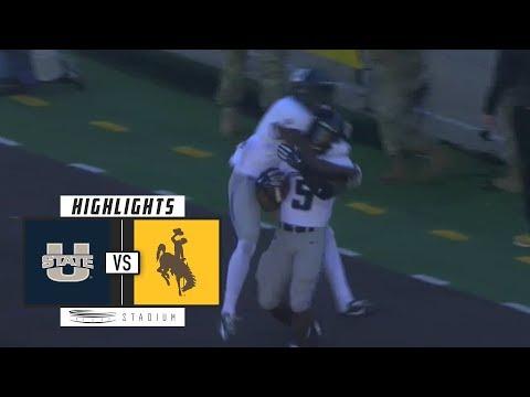 Utah State vs. Wyoming Football Highlights (2018) | Stadium
