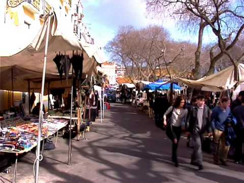 Lisbon tours. The markets and shopping areas of Lisbon.
