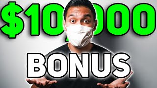 $10,000 Hazard Pay Bonus For Essential Workers (Heroes Act)