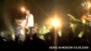 Keane concert in Moscow