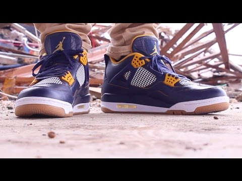 31a339d1200daf AIR JORDAN 4 DUNK FROM ABOVE ON FEET REVIEW! - YouTube