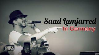 Saad Lamjarred in Germany | سعد المجرد في ألمانيا