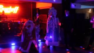 Музыкальный выход Снегурочки и Деда Мороза. Новогодний корпоратив 2014. г. Астана(Организация детских и взрослых праздников Top Show Group