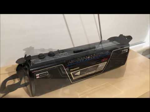 Panasonic Rx Fm14 Radio Cassette Recorder Youtube
