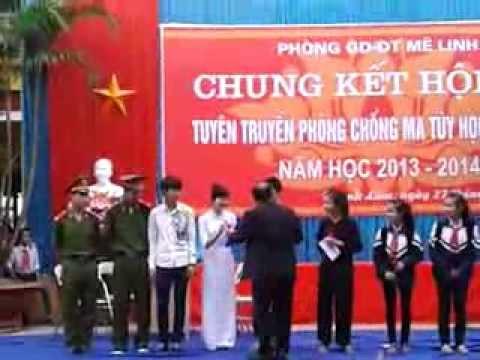 Tuyên truyền phòng chống ma túy học sinh THCS Phạm Hồng Thái
