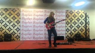 Ale Funky guitar competition PGC Cililitan by Regalien ID