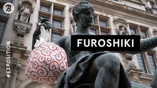 [ EXPOSITION ] Furoshiki, l'art de l'emballage japonais au parvis de l'Hôtel de Ville