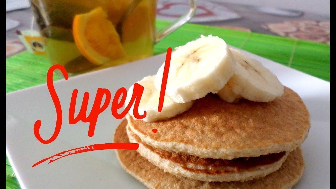 Diete Veloci E Facili : Banana pancakes dieta solo ingredienti ricetta facile e