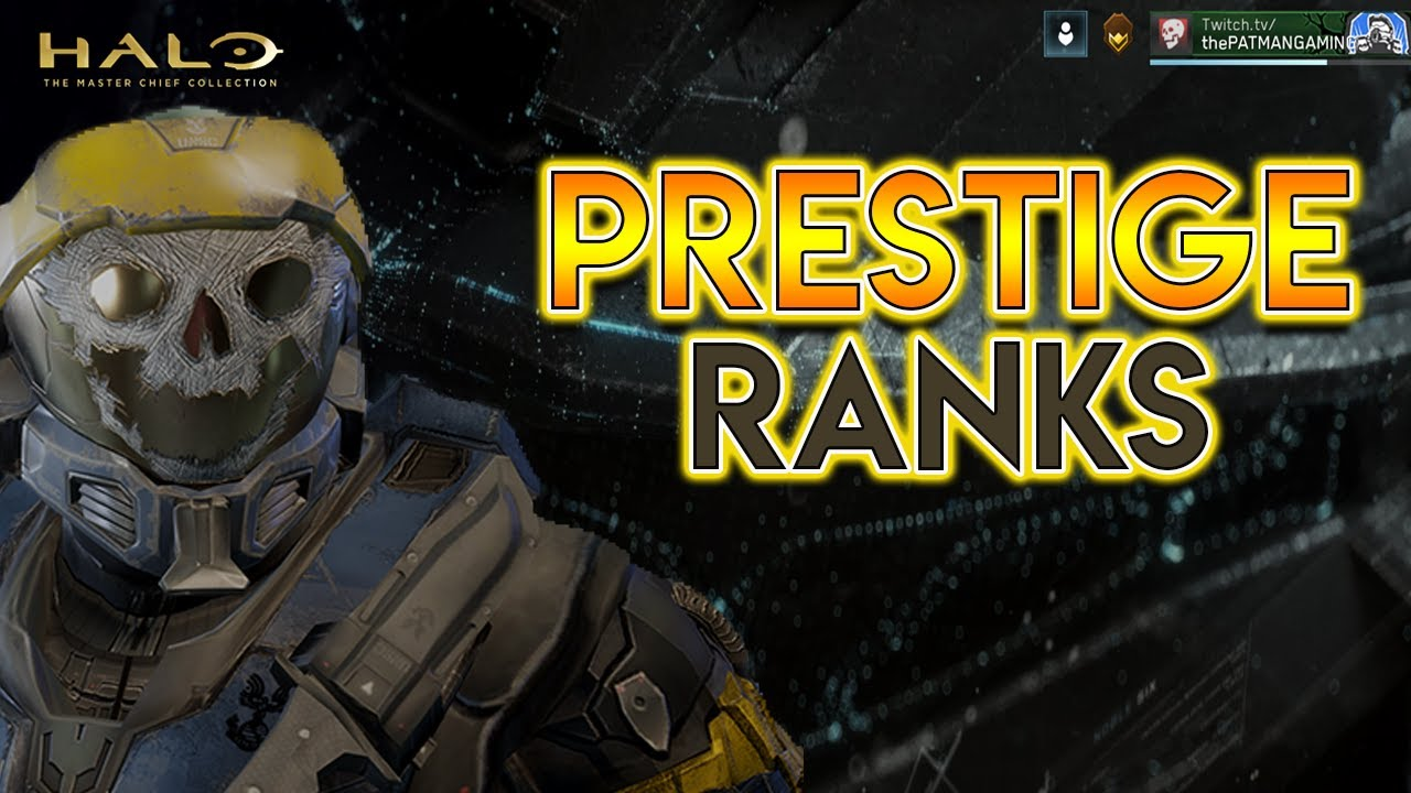 Halo Reach Mcc News New Prestige Ranking System