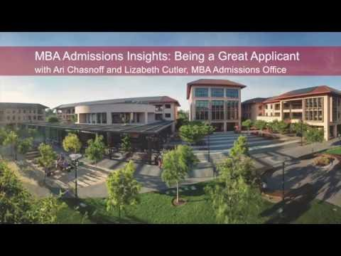 MBA Admissions Insights: Being A Great Applicant