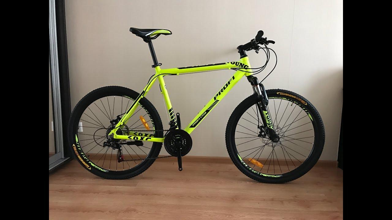 Горный велосипед PROFI колеса 26 дюймов - YouTube