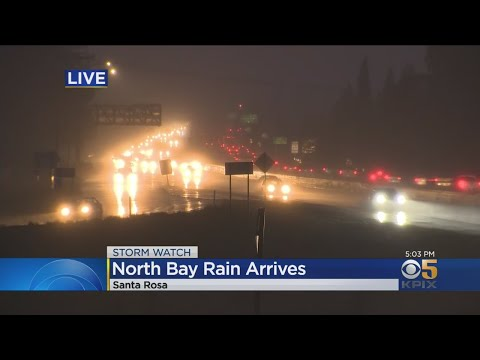 Storm Watch: Bay Area Braces As Holiday Storm Arrives