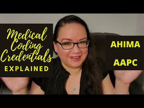 MEDICAL CODING CREDENTIALS EXPLAINED