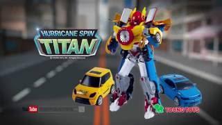 Tobot Titan Hurricane Spin