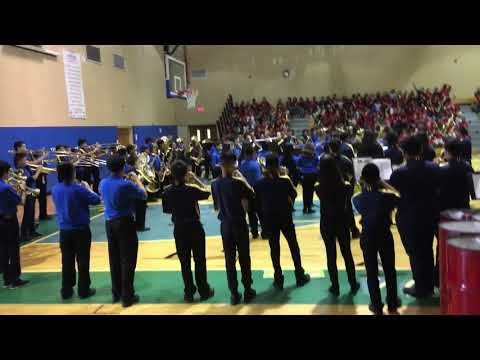 Palm Springs middle school intermediate band