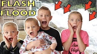 CAUGHT IN A FLASH FLOOD at Universal Studios!