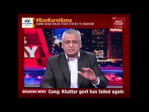 Is Karni Sena Above The Indian Constitution ? | News Today With Rajdeep
