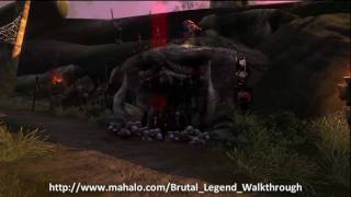 Brutal Legend Walkthrough - Mission 3: Kill Master's Mercy