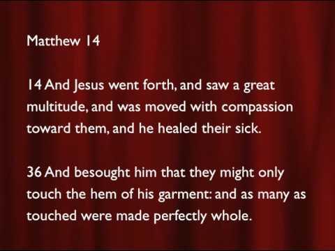 Healing Scriptures Part 2 (Pastor David Oaks)