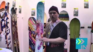 APO Gem Snowboard - Board Insiders - 2014 APO Snowboards Gem Snowboard