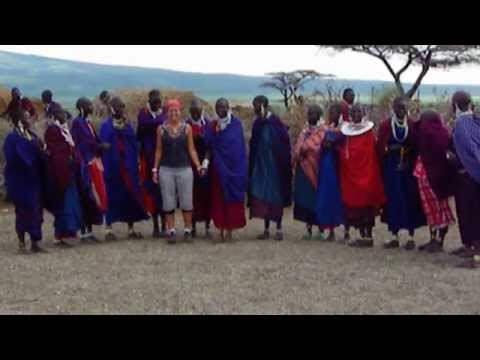 Jumping Dance of the Statuesque Maasai, Ngorongoro