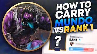 HOW TO MUNDO JUNGLE IN SEASON 10 (VS RANK 1) | League of Legends