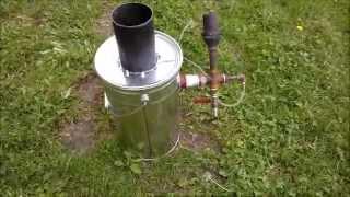 Part1 Exstreme Simple Gasifier: Drizzler Mini