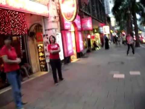 Downtown Kuala Lumpur, Malaysia: Neon, massages & a traffic jam