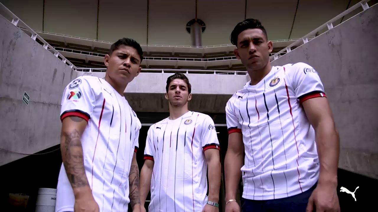 21e37daac5c Chivas De Guadalajara Home   Away Kits 2018-19 - YouTube