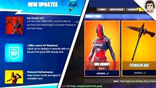 Fortnite RED KNIGHT HAS MADE IT