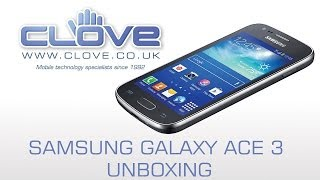 Samsung Galaxy Ace 3 Unboxing