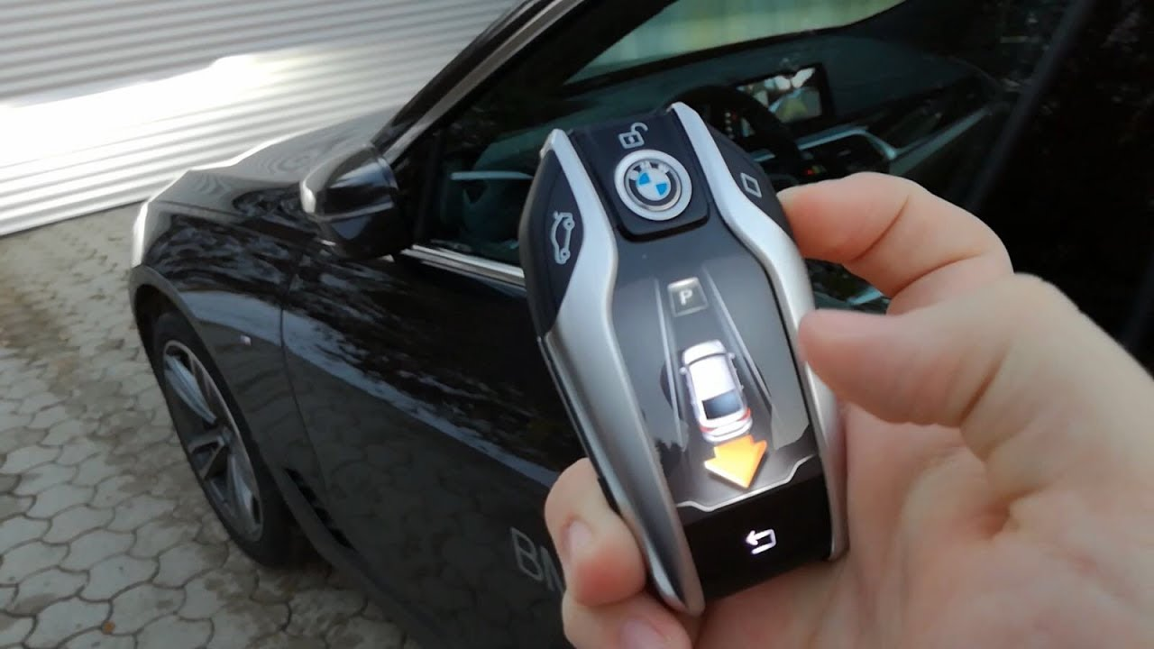 Bmw 630d Xdrive Gt G32 Display Key Remote Control Parking