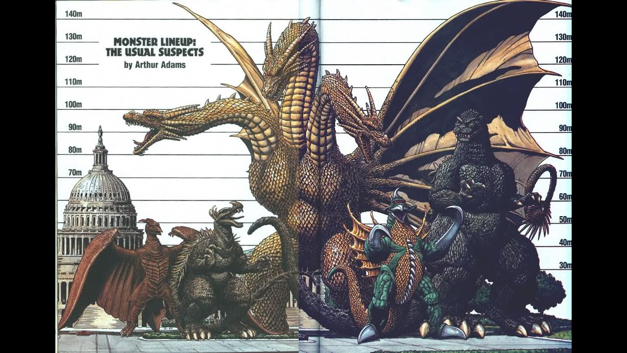 top 40 godzilla gamera and ultraman monsters youtube