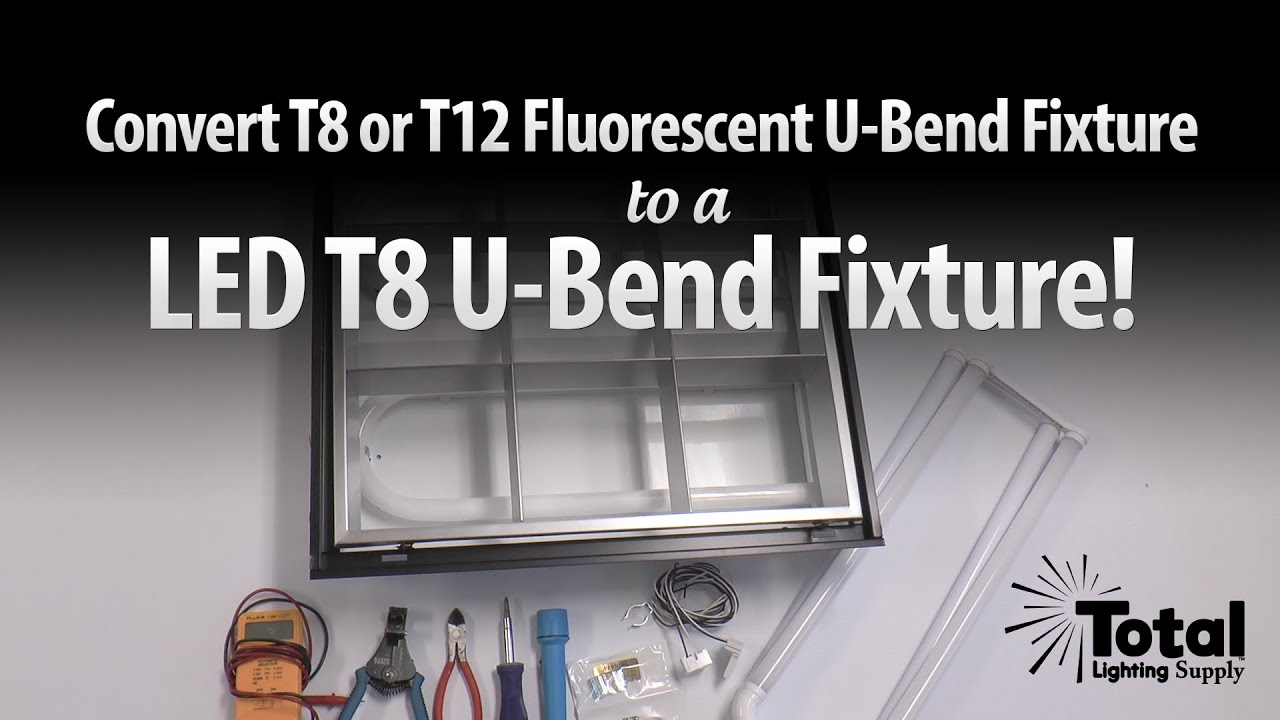 maxresdefault convert t8 or t12 fluorescent u bend fixture to led t8 u bend  at gsmx.co