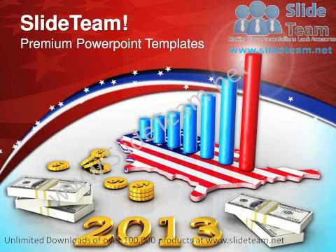 Business Graph With Dollar Money Americana PowerPoint Templates PPT Backgrounds  1112 Slides Backgrounds