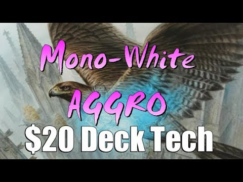 Mtg Deck Tech: $20 Budget Mono-White Aggro in Guilds of Ravnica Standard!