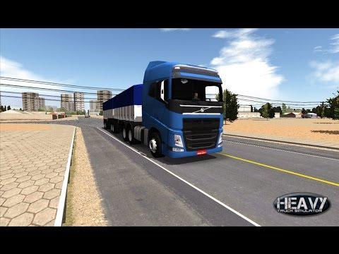 Heavy Truck - Gameplay comentada com informações do HTS e HBS