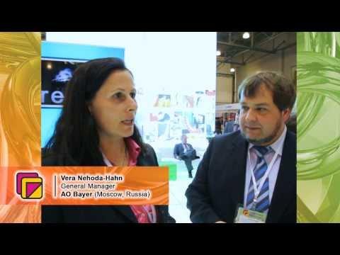 Vera Nehoda-Hahn (AO Bayer, Moscow, Russia) about the 5th Poluyrethanex-2013 Exhibition