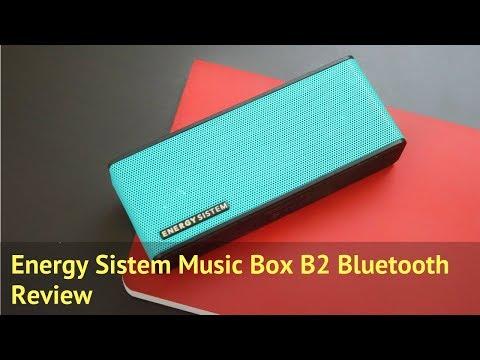 Energy Sistem Music Box B2 Bluetooth Speaker Review